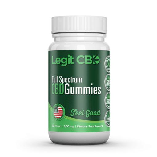 Legit CBD Gummies - 300MG CBD Best Gummies