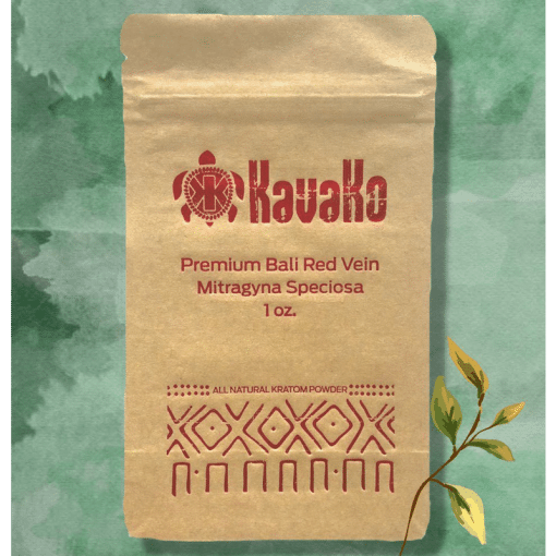 Premium Bali Red Vein Kratom