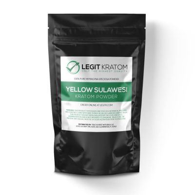 Yellow Sulawesi Kratom Powder