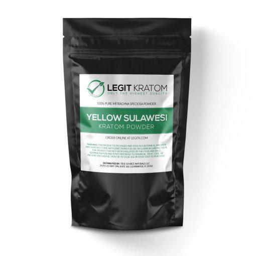 Yellow Sulawesi Kratom Powder