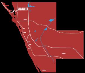 Sarasota County Kratom Map